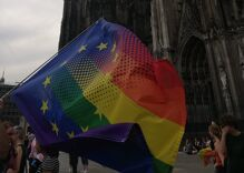 Pride in Pictures: A special rainbow flag