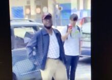 Man caught on video harassing gay couple with racist slurs