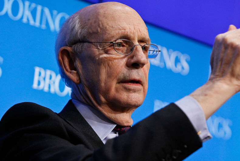 Supreme Court justice Stephen Breyer is dragging his feet about retiring. Why?