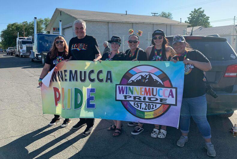 Winnemucca NV celebrated their first LGBTQ Pride in 2021.