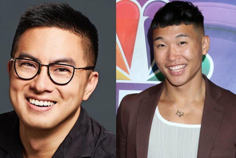 Bowen Yang (l)/Joel Kim Booster