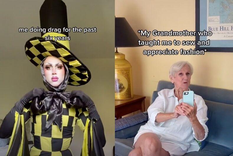 Twink Trash's big reveal stunned grandma.