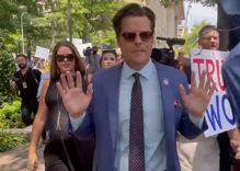 Marjorie Taylor Greene & Matt Gaetz actually ran away from their own chaotic press conference