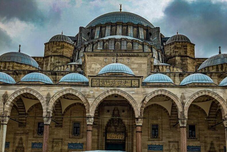 The Süleymaniye Mosque in Istanbul