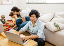 Does working from home hurt LGBTQ people's careers?
