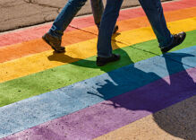 A Trump-loving vandal did over $16,000 in damage to a city's new rainbow crosswalk