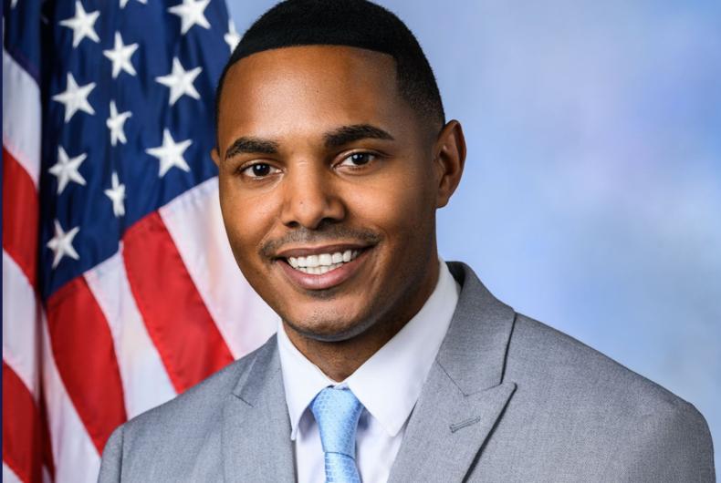 Rep. Ritchie Torres Congressional portrait
