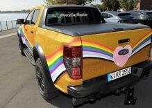 """Ford debuts """"Very Gay Raptor"""" F-150 pickup"""
