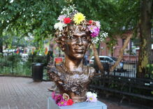 Statue of trans icon Marsha P. Johnson erected in New York City park