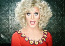 """Trolls harass drag queen & call her """"pedo"""" for helping gay bar employees get vaccine"""