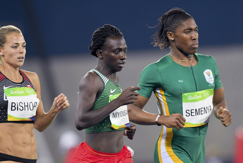 August 20, 2016: SEMENYA Caster (RSA) during women's 800m in the Rio 2016 Olympics Games