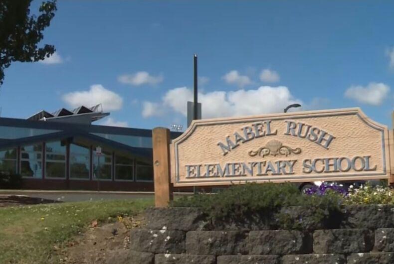 Mabel Rush Elementary School in Newberg, Oregon