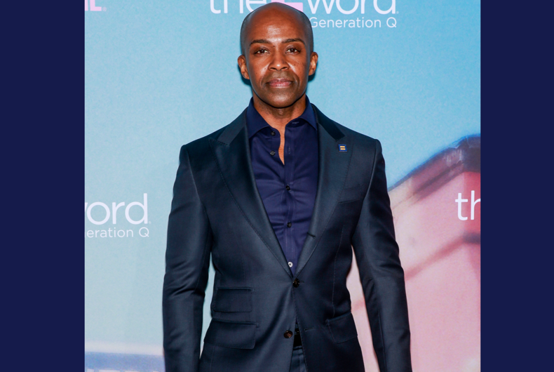 Alphonso David attends the premiere of Showtime's