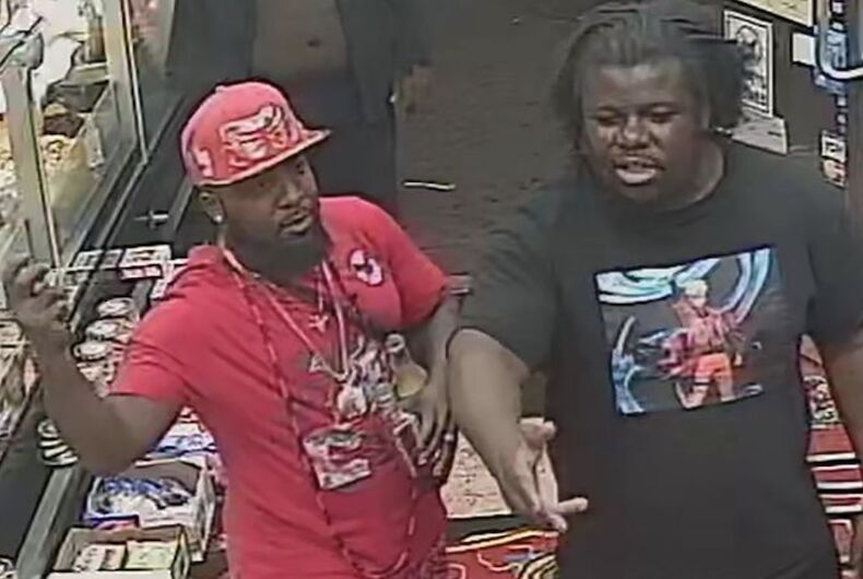 Possible suspects in attack