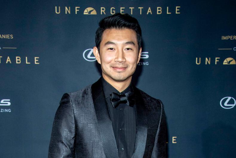 Simu Liu attends the 18th Annual Unforgettable Gala in Beverly Hills in 2019