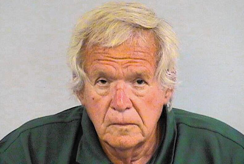 Former Republican U.S. House Speaker Dennis Hastert's mugshot