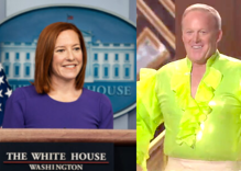 """Sean Spicer is angry at Jen Psaki because she """"chose to"""" answer a reporter's question"""