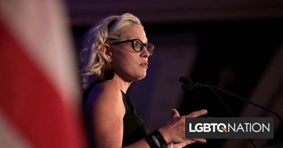Arizona Dems promise to disavow Kyrsten Sinema if she doesn't support filibuster reform