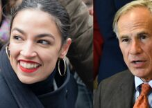 """AOC schools Texas governor after his rape & abortion comments show """"deep ignorance"""""""