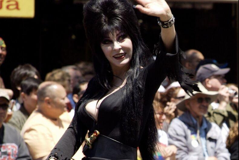 Elvira at the 2006 San Francisco Pride parade