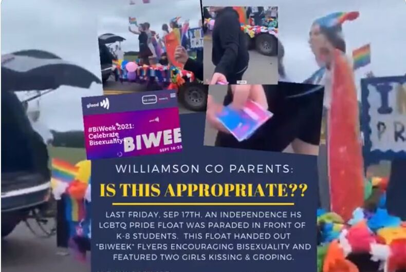 Moms for Liberty rallied parents to denounce two girls who kissed briefly in public