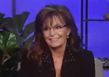 Sarah Palin freezes in awkward smile as Fox host lets loose with creepy sexual innuendo