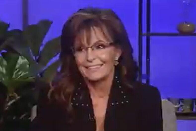 Sarah Palin right when the Fox host said it'd be