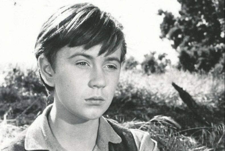 Tommy Kirk in an