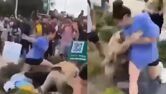Woman goes viral for punching misogynist hate preacher right in the face