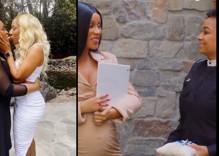Watch these brides freak out as Raven-Symoné brings out Cardi B to officiate their wedding