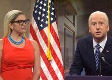 Joe Biden tries to negotiate with Kyrsten Sinema & AOC for SNL season premiere