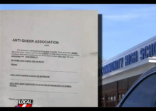 """Survey goes around high school asking if """"queers"""" should use """"normal people"""" bathrooms"""
