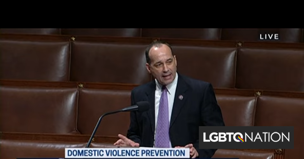 """GOP congressman blames same-sex marriage for """"everything that plagues our society"""""""