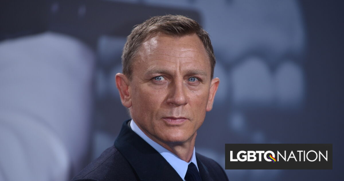 Daniel Craig explains the night he was seen kissing another man & why he goes to gay bars