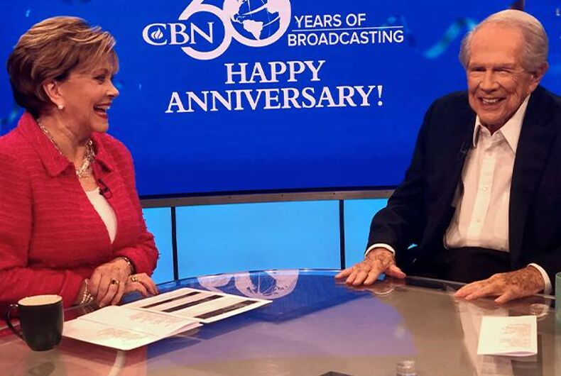 Pat Roberson says goodbye as his Christian Broadcasting Network turns 60 years old.