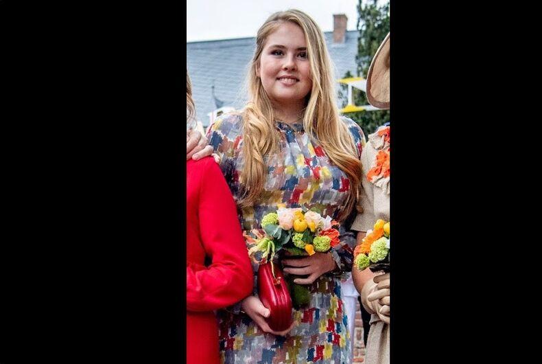 Dutch Princess Amalia
