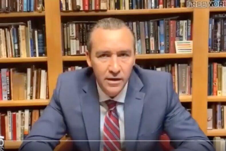 Radical hate preacher Tony Spell