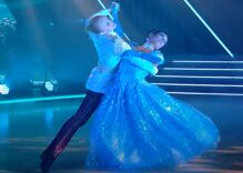 JoJo Siwa stuns in gender-bending Cinderella waltz on Dancing With the Stars