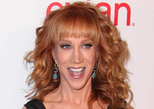 """Kathy Griffin slams protestor who called vaccine mandates """"gay"""""""