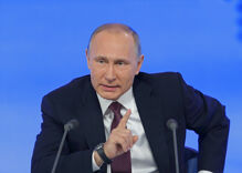 """Authoritarian thug Putin thinks transgender rights are a """"crime against humanity"""""""