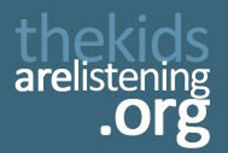 'Kids are Listening' aims to promote positive messaging to LGBTQ youth