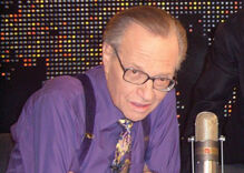 Larry King lends his support to New York's marriage equality campaign