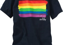 National clothing retailer Old Navy launches line of gay pride t-shirts