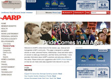 AARP launches website to address needs of older LGBT Americans