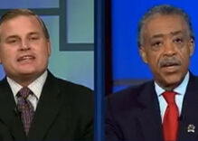 Rev. Al Sharpton takes on NOM's Brian Brown on marriage equality