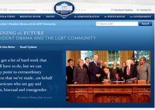 White House unveils web portal aimed at 'Winning the Future' for LGBT Americans