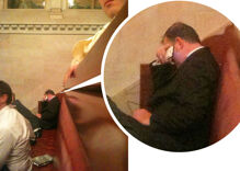 NOM's Brian Brown weeps over the passage of marriage equality in New York
