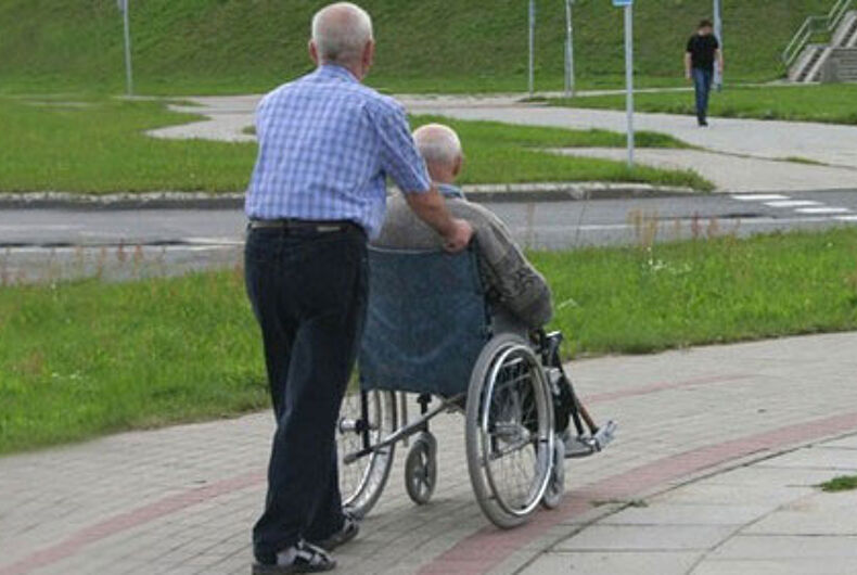 Study finds LGBT seniors face higher rates of depression, loneliness