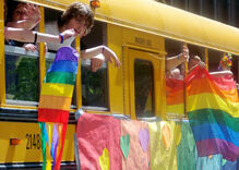 Teacher suspended for educating students on LGBT issues