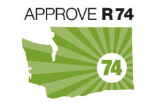 Supporters raise $952K in June to uphold Washington's gay marriage law